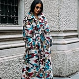 Take a cue from Nausheen Shah and invest in a statement coat.