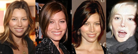 Jessica Biel Changes Her Hair Color