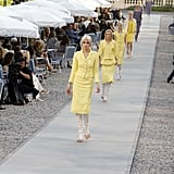 Karl Lagerfeld Shows a '30s Inspired Collection For Chanel's 2012 Cruise Collection on the French Riviera