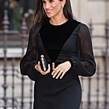 September: Meghan Stepped Out For Her First Solo Royal Engagement at the Royal Academy of Arts
