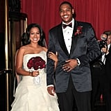 In July 2010, longtime couple LaLa Vazquez and NBA star Carmelo Anthony tied the knot at Cipriani's in NYC.