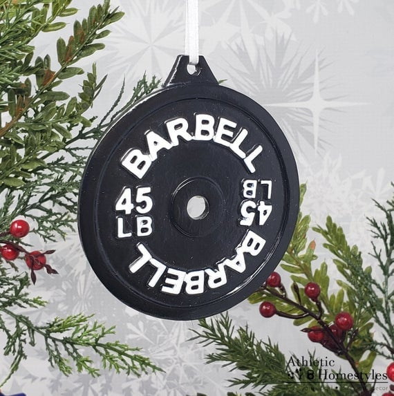 weight plate ornament