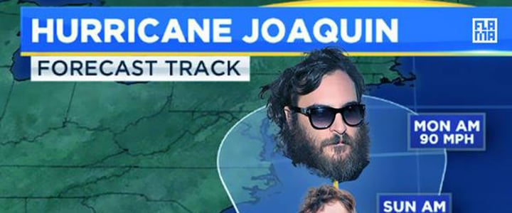 10 Hurricane Joaquin Phoenix Memes to Make You Giggle as You Stay Indoors