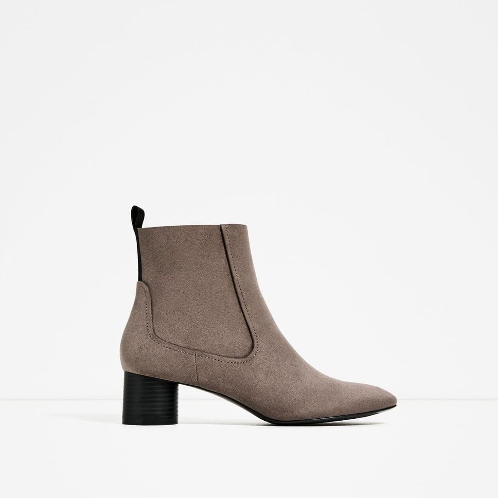 Zara High Heel Pointed Ankle Boots ($23)