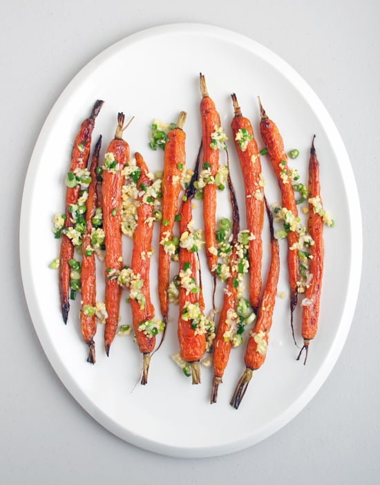 Roasted Carrots With Scallions and Ginger