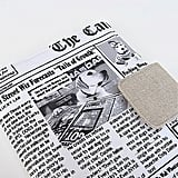 Newspaper Chronicle Case Cover ($42)