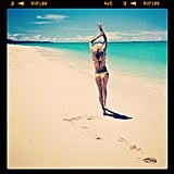 Jessica Hart, in paradise. Some people have all the luck. Source: Instagram user 1jessicahart