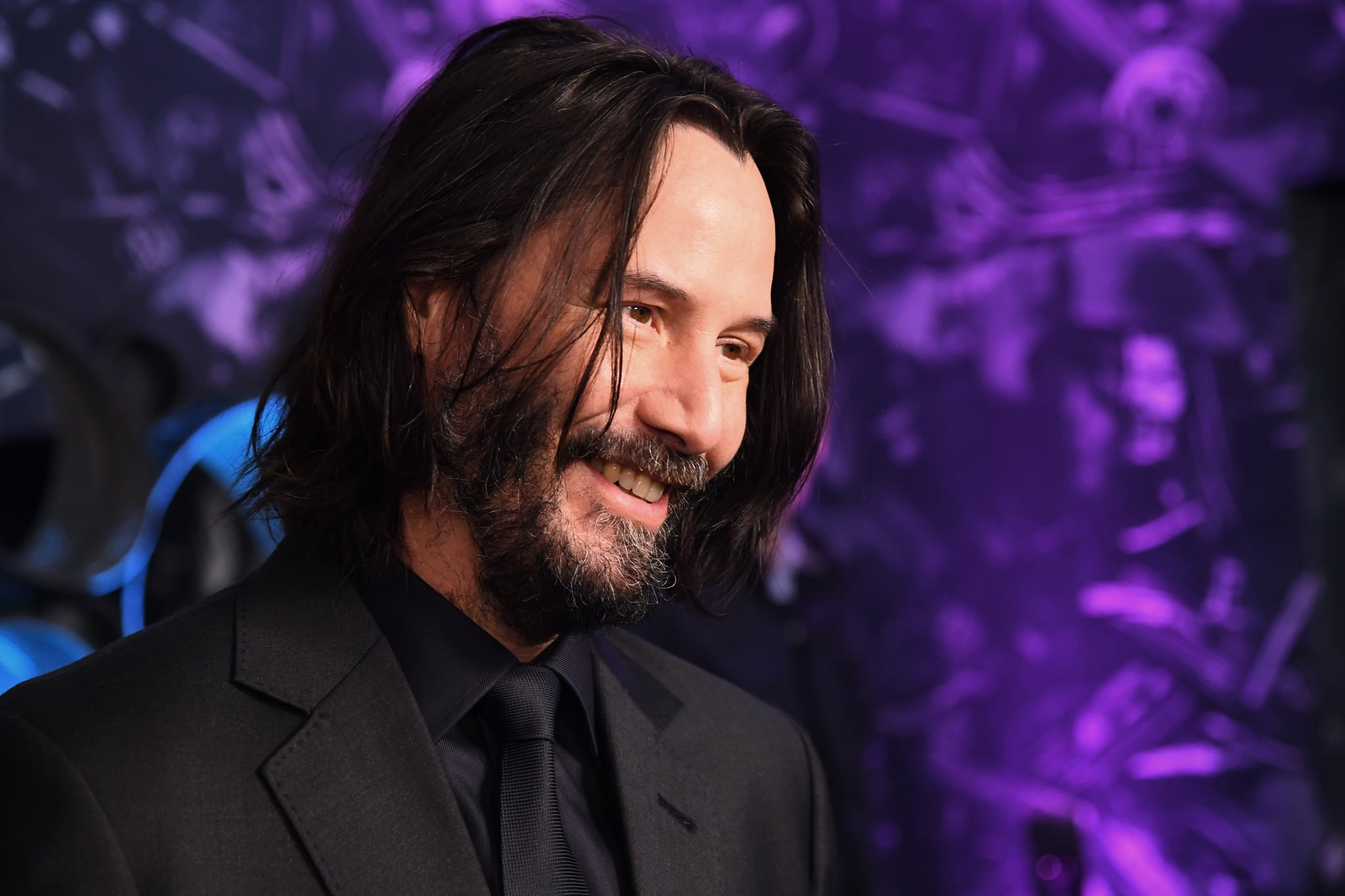 LONDON, ENGLAND - MAY 03: Keanu Reeves attends the John Wick special screenings at Ham Yard Hotel on May 03, 2019 in London, England. (Photo by Dave J Hogan/Getty Images for Lionsgate )