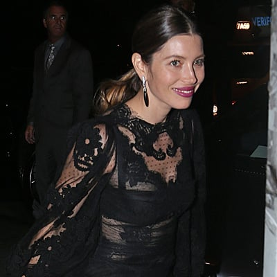 Jessica Biel Joins Justin Timberlake at MTV VMAs After Party