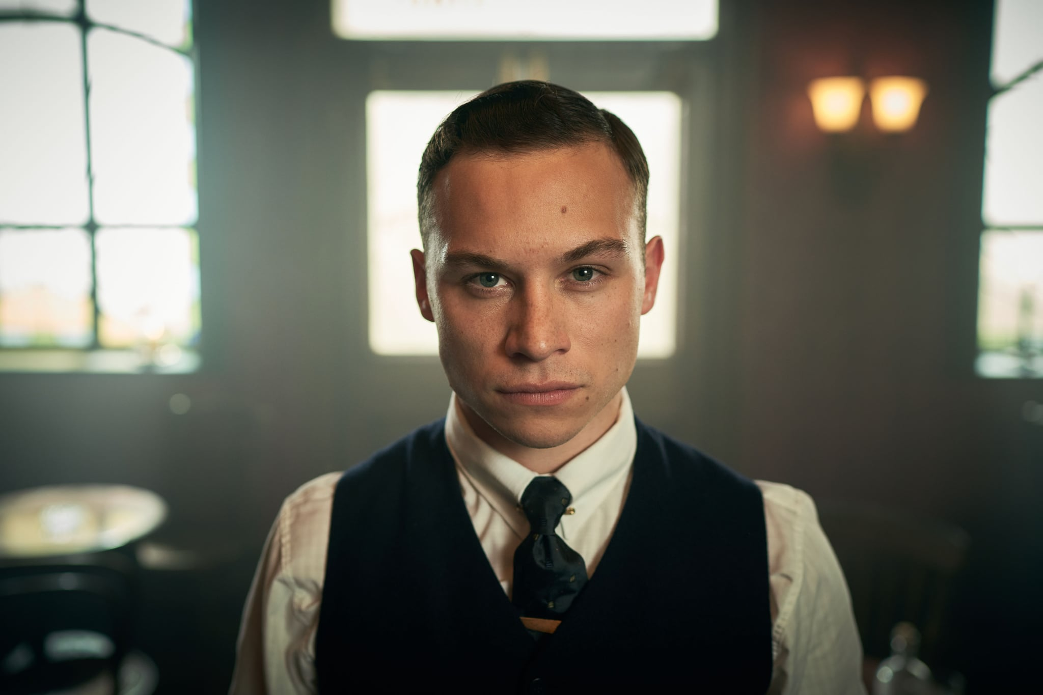 WARNING: Embargoed for publication until 00:00:01 on 17/09/2019 - Programme Name: Peaky Blinders V - TX: n/a - Episode: Peaky Blinders V Ep 6 (No. 6) - Picture Shows:  Michael Gray (Finn Cole) - (C) Caryn Mandabach Productions Ltd. 2019 - Photographer: Robert Viglasky