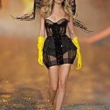 Cara Delevingne at the 2013 Victoria's Secret Fashion Show