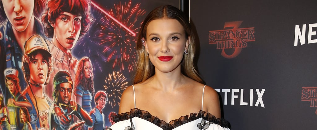 Millie Bobby Brown's White Eyeliner Hack