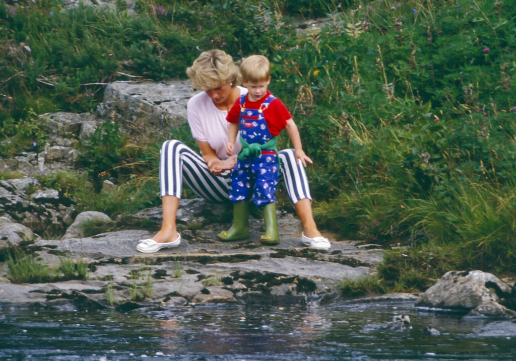 Diana Playing With Harry, 1987