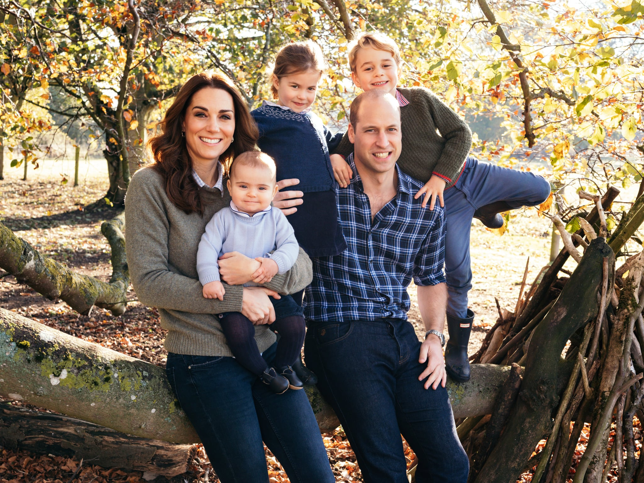 Prince William Christmas 2019 Prince William Kate Middleton Family Christmas Card Photo 2018