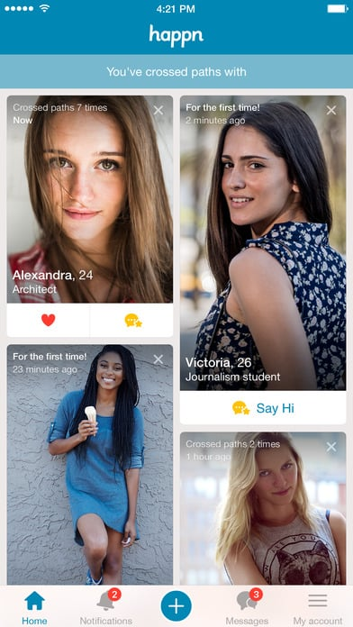 Happn online dating