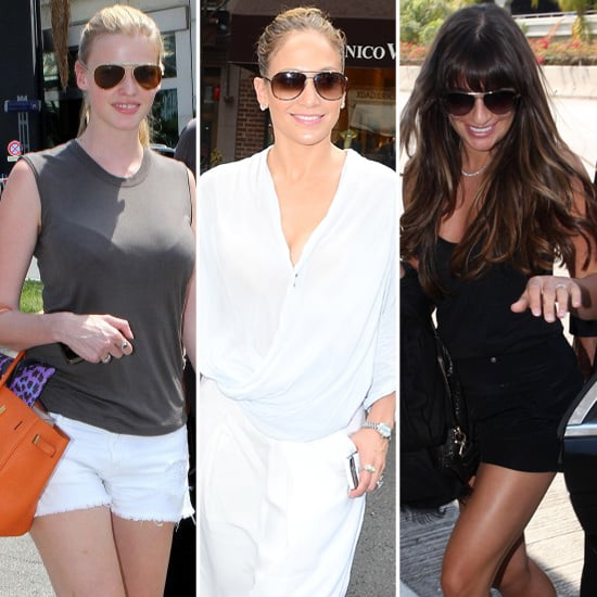 Aviator Sunglasses (Celebrity Pictures and Shopping)
