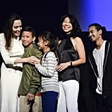 Angelina Jolie and Her Kids at Telluride Film Festival 2017
