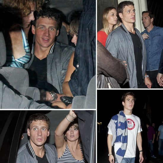 Ryan Lochte Celebrates 28 and 5 Medals With a Night of London Clubbing