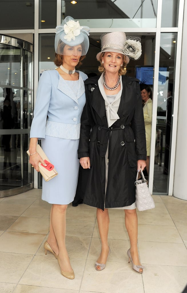 Lady Carolyn Warren and Madeleine Lloyd Webber attended the event.
