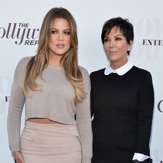Kris Jenner and Khloé Kardashian Have Matching Cross Tattoos