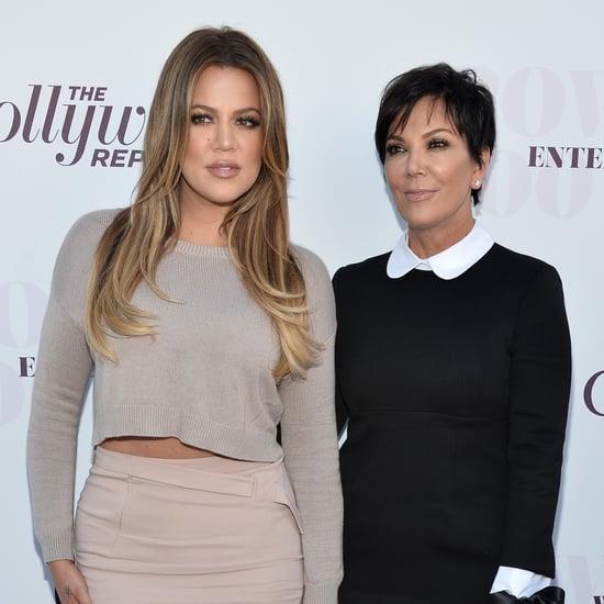 Kris Jenner and Khloé Kardashian Have Matching Cross Tattoos