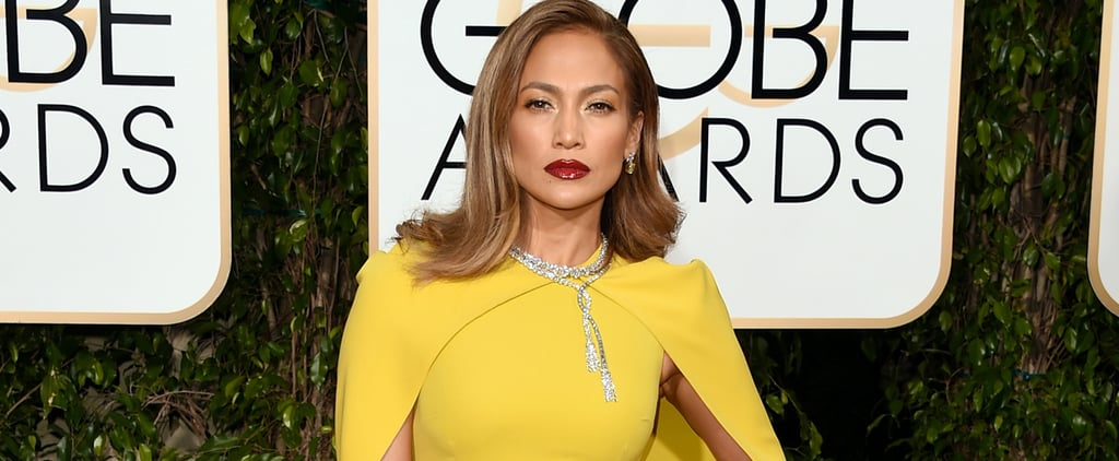 Jennifer Lopez Completely Covers Up For the Golden Globes — and Looks Better Than Ever