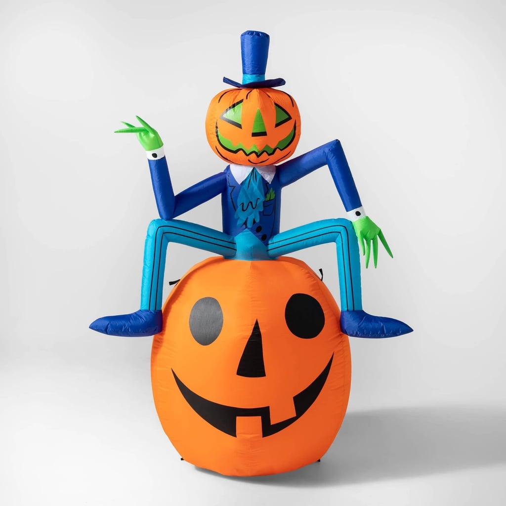 LED Pumpkin Man Inflatable Halloween Decoration