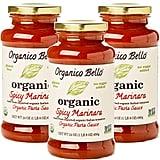 Organico Bello Organic Gourmet Spicy Marinara Sauce