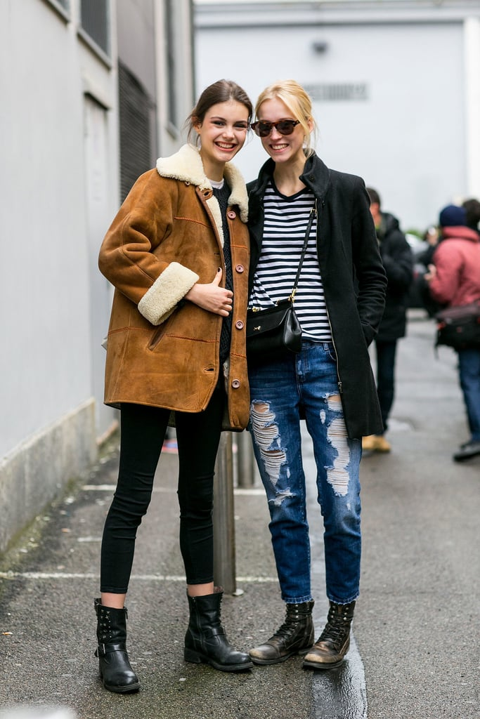 Model Street Style Fashion Week Fall 2015 Popsugar Fashion