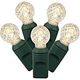 Vickerman LED Faceted Globe String Lights