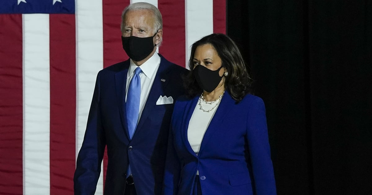 """Joe Biden and Kamala Harris Pledge to Fight For a """"Country For All Americans"""" in Victory Video"""
