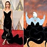 Brie Larson Channeling Ursula