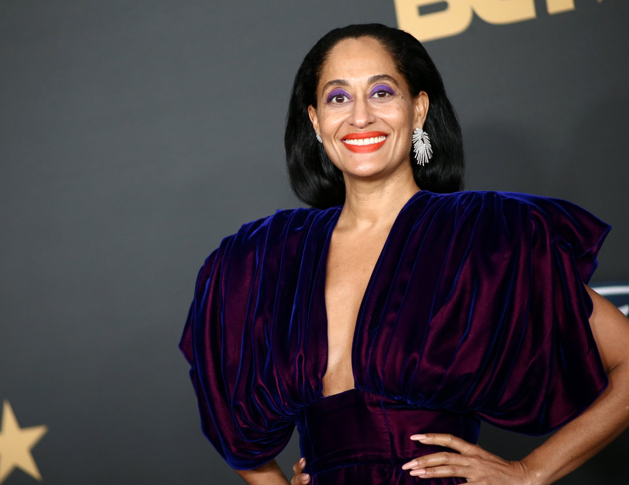 PASADENA, CALIFORNIA - FEBRUARY 22: Tracee Ellis Ross attends the 51st NAACP Image Awards, Presented by BET, at Pasadena Civic Auditorium on February 22, 2020 in Pasadena, California. (Photo by Tommaso Boddi/FilmMagic)