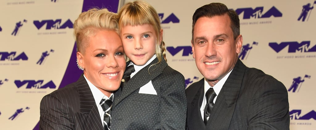 Pink Suits Up With Her Adorable Family For a Momentous Night at the VMAs