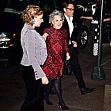 Sophie Von Haselberg and Bette Midler at Marc Jacobs's Wedding