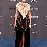 Amandla Stenberg at the 2019 LACMA Art+Film Gala