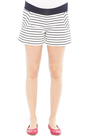 Olian's Gina Maternity Shorts ($53, originally $71) are nautical-chic in crisp navy and white.