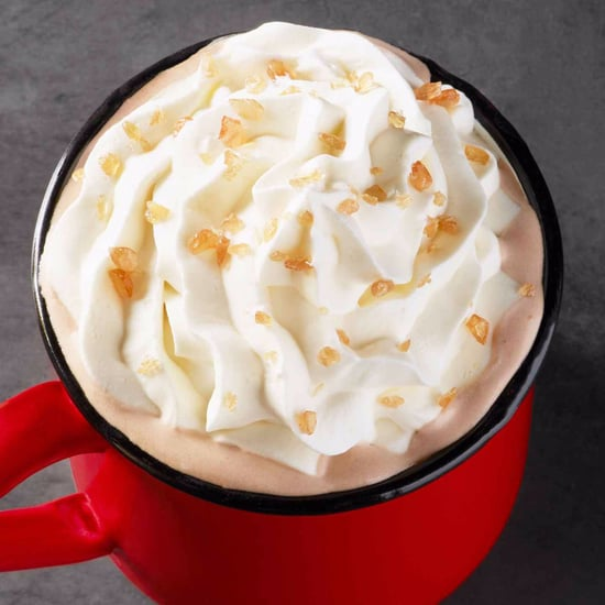 Starbucks Toffee Almond Milk Hot Chocolate