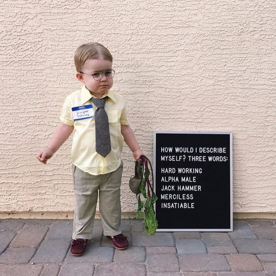 Jenna Fischer Shares Boy Dressed as Dwight For Halloween