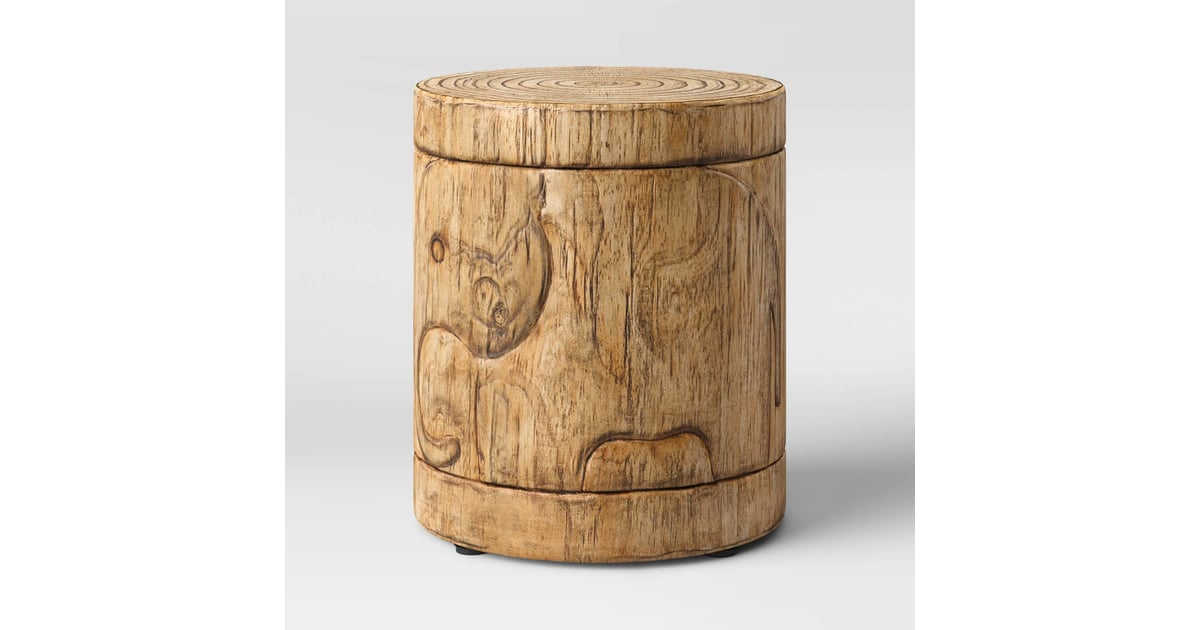 Faux Wood Elephant Patio Accent Table Best Target Outdoor Furniture For Small Spaces 2020 Popsugar Home Australia Photo 15