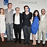 The cast of Cosmopolis got together for a photo.