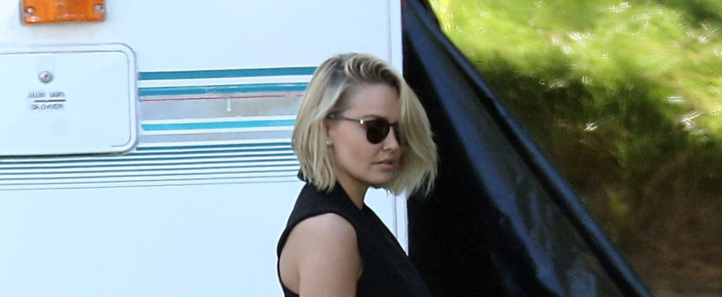 Pictures of Lara Bingle's New Hair