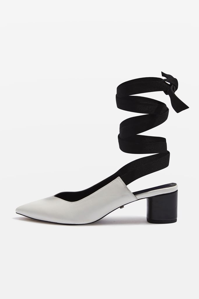 Topshop's Jemima V-Cut Shoes ($68) will work with everything you own.