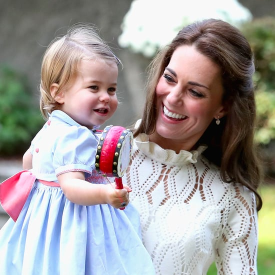 The Duchess of Cambridge and Princess Charlotte Pictures