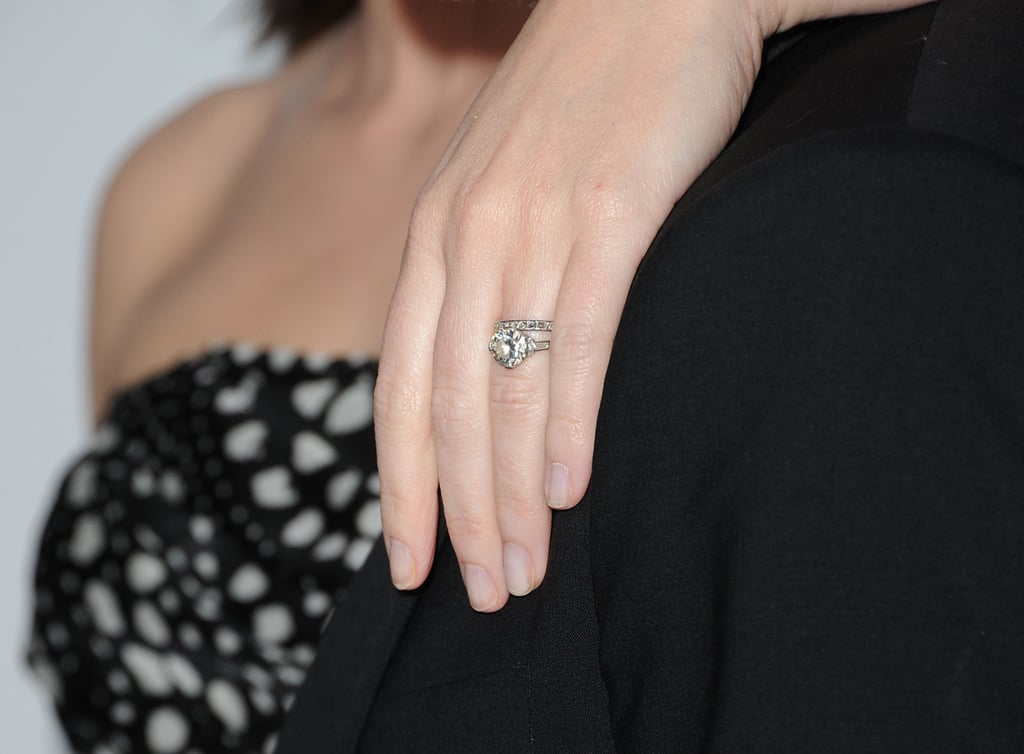Emily Blunt Stylish Celebrity Engagement Rings