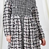 Chanel F/W 2010 Gray & Pink Boucle Coat