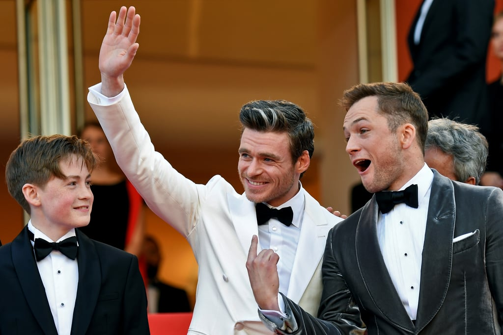 The buzz around the Elton John biopic Rocketman has really been building up over the last few weeks, and now that the musical movie is finally in theaters, that hype is only set to grow. One thing that's already been making an impact is the onscreen chemistry between Taron Egerton and Richard Madden. The romance between the pair (as Elton John and his manager and lover John Reid) has stirred up the emotions of plenty of viewers and led to an enormous amount of shipping for the two British actors. The good news for those who can't get enough of them? They're just as cute off screen, too. Seeing them laughing, posing, and hanging out during the promotional tour has definitely helped fuel the fandoms of both actors. Whether they're hanging out in Cannes or hitting the red carpet in London, they always seem happy in each others' company. Keep reading for just a few of their cutest moments together.      Related:                                                                                                                                Apparently, Elton John Emails Taron Egerton Reviews of Rocketman Every Day