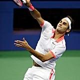 August 8 — Roger Federer