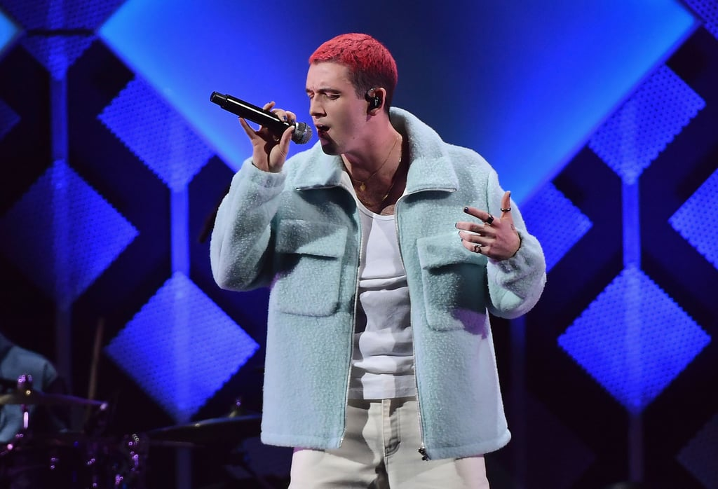 Lauv at iHeartRadio's Jingle Ball in NYC