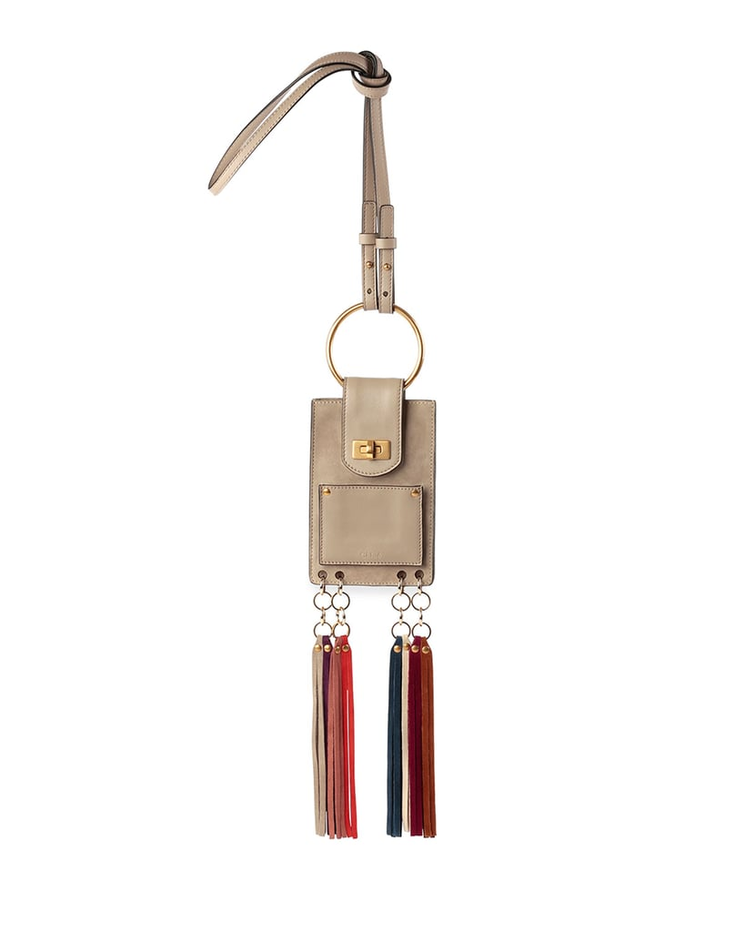 Chloé Jane Suede Mini Bracelet Bag ($990)
